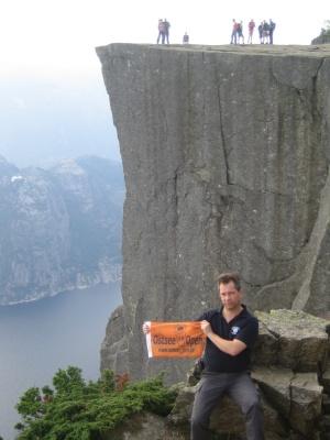 Oxo Flagge 04.05.2009 Norwegen Listafjord