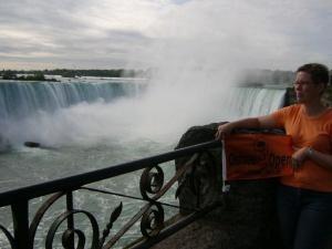 Oxo Flagge Sept.2009 Niagarafälle / Canada